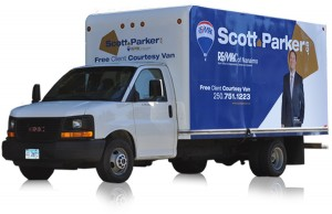 Scott Parker Moving Van Nanaimo